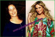 Parecidos con famosos: Claudia Leitte Actriz Brasileña antes y después