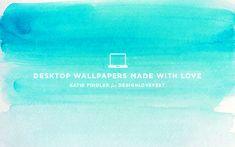 Watercolor desktop