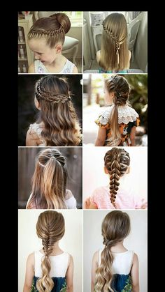Cool Hairstyles For School Girls 2019 – we have the latest on how to get the haircut, hair color, and hairstyles you want for the season! Cool Hairstyles For School Girls 2019 Cute Little Girl Hairstyles, Easy Hairstyles For School, Teen Hairstyles, Latest Hairstyles, Children Hairstyles, Quick Hairstyles, Braided Hairstyles For Kids, Hair Ideas For School, School Hairdos