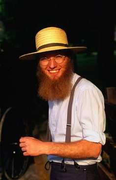 Amish farmer from the traditional Pennsylvania Dutch town of Intercourse.