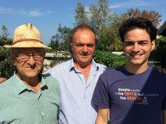 La Sibilla in tre generazioni: Vincenzo, Luigi e Vincenzo Di Meo #amoreperlavigna