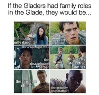 XD Gladers have family roles