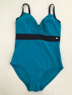 BNWT NEXT swim swimming costume swimsuit  Sport black floral print cross back