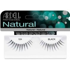 085018b26df ARDELL NATURAL 104 BLACK Glamour lashes are perfect for any special  occasion or a night out on the town.