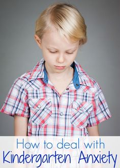 10 Ways to Ease Kindergarten or First Day of School Anxiety  - check out idea of comfort object, maybe something felt that will fit in pocket like a small puffy felt heart.