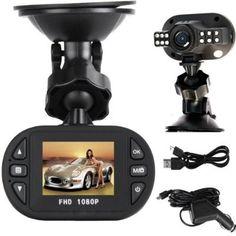 Pasonomi C600 1080P Full HD Car DVR 12 Ir LED Carcam G-sensor Camera 120A+ Grade High-resolution Ultra Wide-angle Len - For Sale