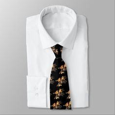 Cute Little Sparrow Brown Birds Black Background Tie - fathers day best dad diy gift idea cyo personalize father family