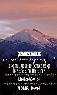 """Be Still"" - The Killers"