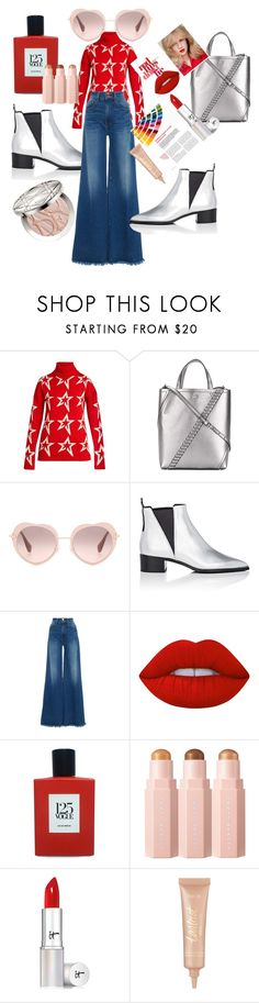 """Glow"" by fortydeg ❤ liked on Polyvore featuring Perfect Moment, Proenza Schouler, Miu Miu, Acne Studios, Frame, Lime Crime, Comme des Garçons, It Cosmetics, tarte and Christian Dior"