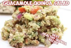 Seriously the BEST ever. Healthy Rice, Healthy Salads, Healthy Eating, Healthy Carbs, Quinoa Salad, Cooked Quinoa, Vegetarian Recipes, Healthy Recipes, How To Cook Quinoa