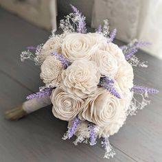 All ivory with accents of lavender sprigs 🖤 www.SecondhandStardust.com Lilac Wedding, Wedding Inspiration, Wedding Ideas, Lavender, Ivory, Prints, Printmaking, Lavandula Angustifolia