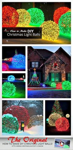 I have a gallery of 21 cheap and easy to create DIY outdoor #ChristmasDecorations for your inspiration.