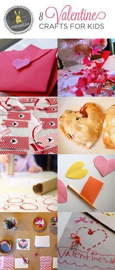 8 Valentine Crafts for Kids   TinkerLab