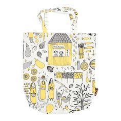 TREBLAD Taška IKEA Používáním této tašky, místo tašek na jedno použití, uděláte dobrý skutek pro životní prostředí.