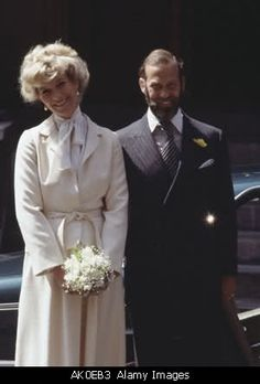 Engagement of Prince Michael of Kent & Marie Christine von Reibnitz