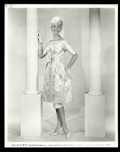 """5/6/14  1:00a  Doris Day Fashions for """"Midnight Lace""""   She wore this at the Classical Theatre   Scene  1960"""