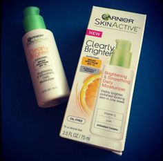 Garnier SkinActive Clearly Brighter Brightening and Smoothing Daily Moisturizer With SPF 15, $12.99
