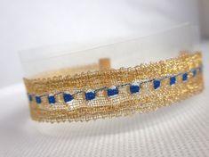 Lace Bracelet, Bracelets, Bobbin Lace, Boho Fashion, Gypsy, Chic, Gold, Jewelry, Style