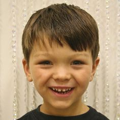 Site for tons of boy haircut ideas