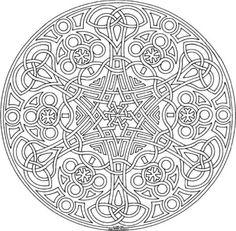 Kindled Love Mandala Coloring Page By Varda K