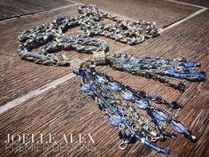 "The NEW @premierdesignsinc ""Dusk"" double tassel necklace is absolutely…"