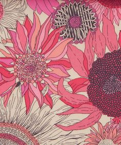 Liberty Art Fabrics Susanna C Tana Lawn | Fabric by Liberty Art Fabrics | Liberty.co.uk pink