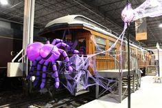 Fantômes ferroviaires / Railway Ghosts #exporail #musée #museum #trains #tramways #streetcars #familyactivities #Halloween Family Activities, Ghosts, Trains, Fair Grounds, Halloween, Fun, Halloween Labels, Demons, Spooky Halloween