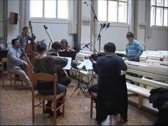 David Cizner rehearsal video, boy soprano sings G F Handel   LASCIA CH´I...