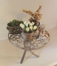 miniature wire table