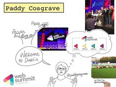 Sketchnotes @PaddyCosgrave kicks off #WebSummit 2014