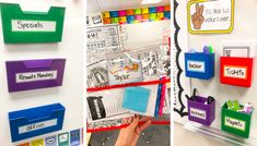 Organize with Resources from Lakeshore Learning – Tales From a Very Busy Teacher Behavior Management Strategies, Behavior Incentives, Classroom Behavior Management, Primary Classroom, Art Classroom, Halloween Art Projects, Class Library, Lakeshore Learning, Back To School Essentials