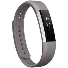 Fitbit 'Alta' Leather Accessory Band ($30) ❤ liked on Polyvore featuring jewelry, rings, band jewelry, fitbit, fitbit jewelry, leather ring and band rings