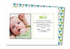 Carte remerciement naissance dessins aux traits Planet-cards #carte #remerciement