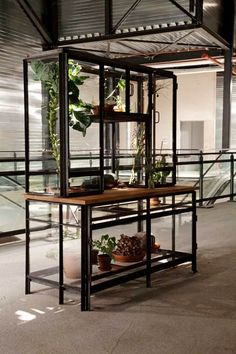 Cabinet green house.