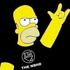 Homer Simpson loves rock and roll, do you? Homer Simpson, Guns N Roses, The Neighbourhood, Synyster Gates, Rock Poster, Bad Boy, Tim Beta, Avenged Sevenfold, Jon Bon Jovi