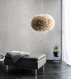 EOS L brown fjäderlampa 65 cm, VITA