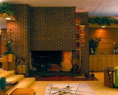 John E. Christian house/ Samara. 1954. West Lafayette, Indiana. Usonian Style. Frank Lloyd Wright