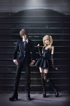Light and Misa l Death Note