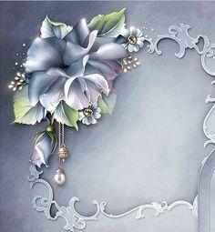 flower & frame