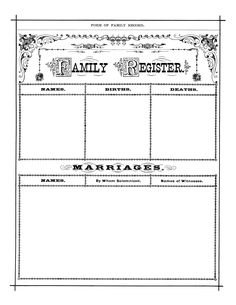 197 best genealogy templates printables images on pinterest in