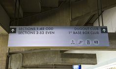 stadium wayfinding signage - Google Search