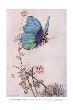 The Butterfly Took Wing Giclée-tryk af Warwick Goble - på AllPosters.dk. Vælg mellem over 500.000 Plakater & Posters. Indramning til fornuftige priser, hurtig levering, 100 % tilfredshedsgaranti.