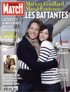 Marion Cotillard et Maud Fontenoy