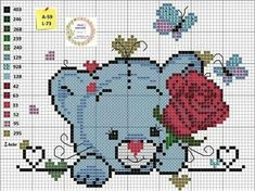 1 million+ Stunning Free Images to Use Anywhere Cross Stitch Baby, Cross Stitch Animals, Cross Stitch Charts, Cross Stitch Patterns, Pixel Crochet, C2c Crochet, Tapestry Crochet, Cross Designs, Cross Stitch Designs