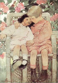 Jessie Willcox Smith - Eine Kindfrage
