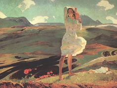 Spring, 1956 - Hovhannes Zardaryan.Оганес Зардарян.( ՀՈՎՀԱՆՆԵՍ ԶԱՐԴԱՐJԱՆ)