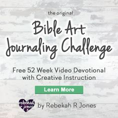 Enjoy a simple watercolor pencil tutorial and devotional on surrender and redemption, in week 51 of the Bible Art Journaling Challenge with Rebekah R Jones!