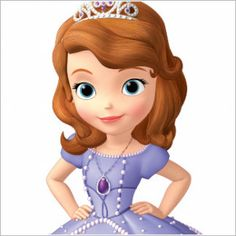 Oh My Fiesta! in english: Sofia the First: Free Party Printables and Images. Princess Sofia Cake, Princess Sofia Birthday, Princess Sofia The First, Princess Party, Tangled Birthday, Sofia The First Birthday Cake, First Birthday Parties, Birthday Party Decorations, Craft Party