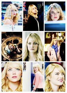 Emma Stone in the Amazing Spider-Man 2