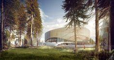 Nieuw evenementencomplex voor Kopenhagen - architectenweb.nl